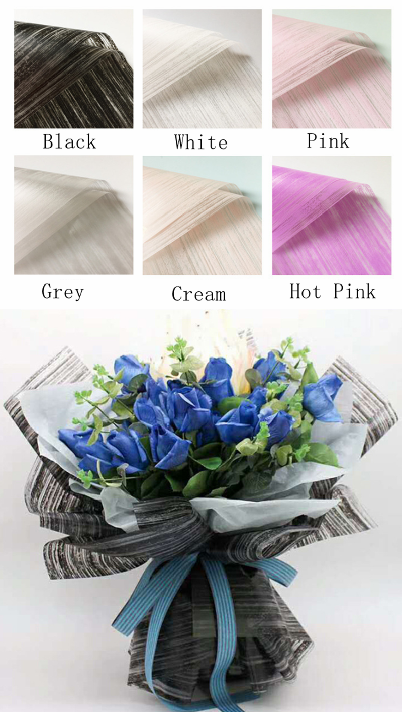 waterproof bouquet wrapping paper