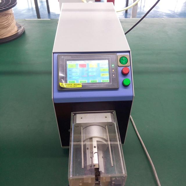 10mm semi automatic wire stripping machine